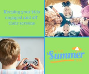 Screen free summer for kids